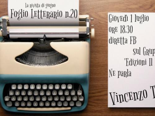 Prossimi impegni – Il Foglio Letterario Edizioni