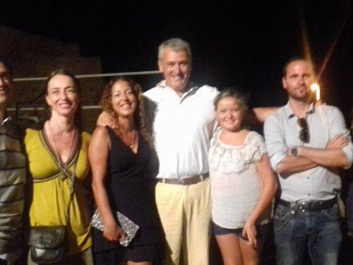 Gordiano Lupi con Anne Riitta Ciccone.