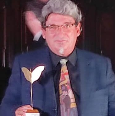 """XX Premio Internazionale Napoli Cultural classic 2021 sezione Scrittura 2021 : Patrice Avella per il libro """"Modigliani, l'amore e Paris"""" EDIZIONI IL FOGLIO 2021."""